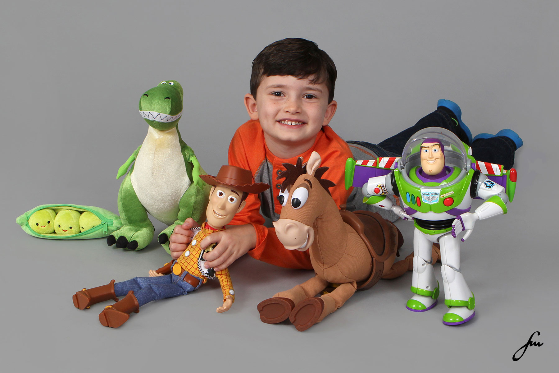 Toy Story - Kids Studio Session - Forever Memories