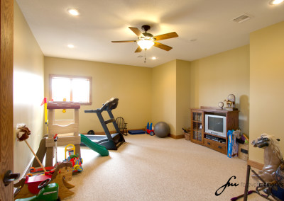 Exercise and play room