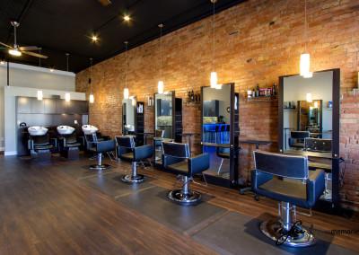 Allure Salon Stylist Station