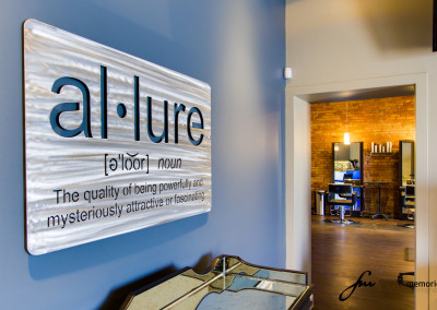 Allure Salon Sign