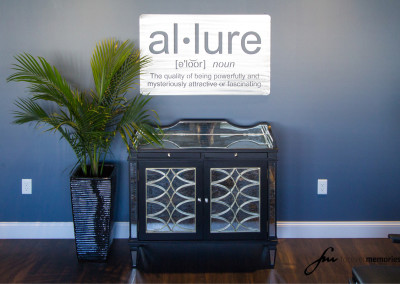 Allure Salon Sign